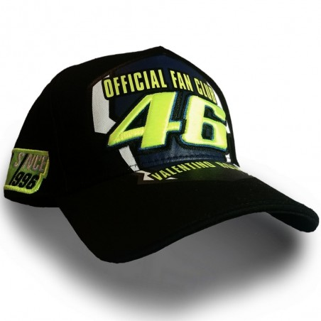 CASQUETTE OFFICIELLE VALENTINO ROSSI VR46 YAMAHA RACING