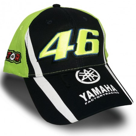 CASQUETTE OFFICIELLE VALENTINO ROSSI VR46 YAMAHA RACING 2