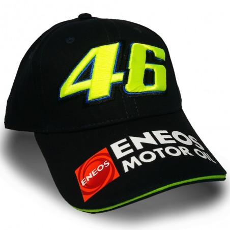 CASQUETTE OFFICIELLE VALENTINO ROSSI VR46 YAMAHA RACING 3